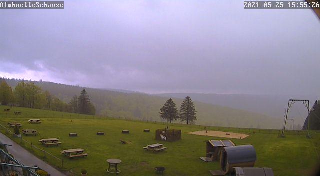 Rothaarloipe/                 Loipenskigebiet Schanze - Jagdhaus - Webcam 2